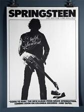 Bruce Spingsteen, Born to Run, The Bottom Line, Repro Poster