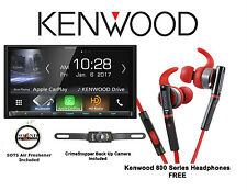 Kenwood DMX7704S Digital Media Receiver KH-SR800-R Headphones SV-5130.IR Camera