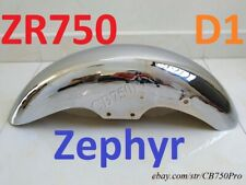 Kawasaki ZR750 D1-D2 Front Fender Zephyr 750 C1-C4 Modify Chrome Mud guard 91-99