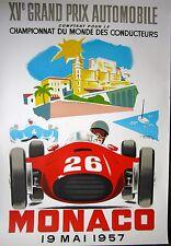 Monaco Grand Prix 1957 Poster