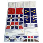 Banderas francesas/French flags/Französische flaggen-Playmobil Sticker/Aufkleber
