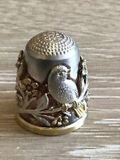 Silver Wengert Pforzheim German Thimble