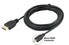 "1.8M Micro HDMI to HDMI Cable for Lenovo Yoga 2 11.6"" Laptop Tablet  to TV"