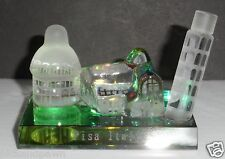 Art Glass Clear Leaning Tower of Pisa Italy Figurine Paperweight