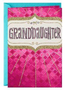 Graduation Card- Eyes Full of Wonder Graduation Card for Granddaughter