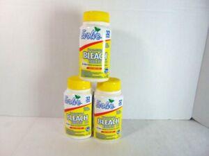 Evolve Bleach Tablets Lot 3 Fresh Lemon Scent No Splash Ultra Concentrated New