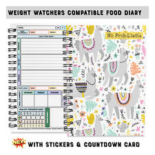 Slimming with Weight Watchers Tracker journal note book log cover C54  Flexible