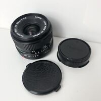 Canon FD 28mm f2.8 Prime Manual Wide Angle Lens - With both caps