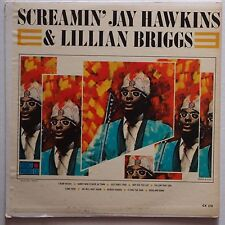 SCREAMIN' JAY HAWKINS w/ LILLIAN BRIGGS rare 50s CORONET vinyl LP VG+