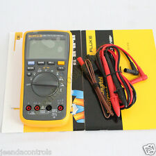 FLUKE 17B+ Digital Multimeter W Temperature Frequency 12 Months Warranty