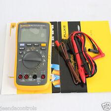 FLUKE 17B+ Digital Multimeter W Temperature Frequency 12 Months Warranty