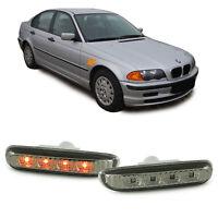 LED Seitenblinker smoke für BMW 3ER E46 Coupe Cabrio Limousine Touring 98-01