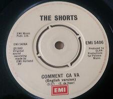 The Shorts - Comment Ça Va - EMI 5406 (1983)