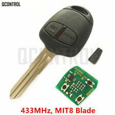Remote Key fob for MITSUBISHI Outlander Pajero Triton ASX Lancer 433MHZ