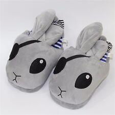 Kuroshitsuji Black Butler Bitter Rabbit Indoor Slipper Plush Soft Home Shoes