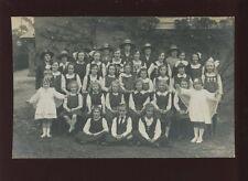 Hampshire CHRISTCHURCH YWCA Tea at Daisy House c1909 RP PPC Habgood Boscombe