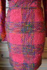Vintage Valentino Pink Tweed Skirt