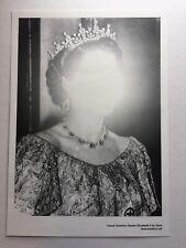 Zevs. Visual Violation Queen Elizabeth II. A3 Screenprint. Banksy, Stik, Obey