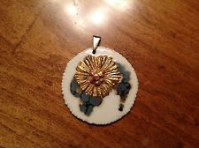 Royal Copenhagen vintage ca 60's Anton Michelson Danish modernist pendant