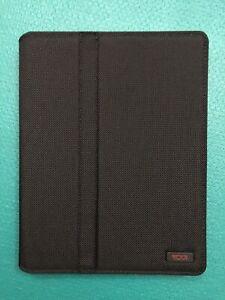 Brand New $95 100% Authentic TUMI Ballistic Snap iPAD 2 3 4 Retina Case Black