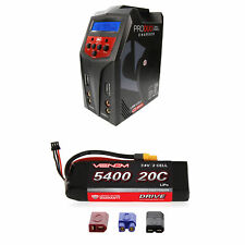 Venom 20C 2S 5400mAh 7.4V LiPo Battery and Pro Duo Charger Combo