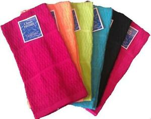Kitchen Towel Cotton Dish Hand Towel Long Lasting 12 Pack 15 x 25 inch USA PP