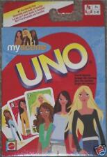 MATTEL - NEW My Scene Barbie Doll UNO Card Game Brand New