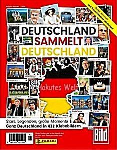 Deutschland sammelt Deutschland - rare Sticker  - mint - top