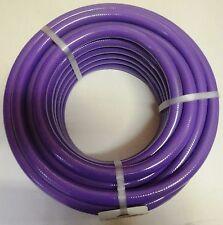 "Purple recycle SULLAGE reclaim grey water garden Hose 25mm 1"" x 20m AUSTRALIAN"