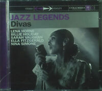 2ercd Jazz Legends - Divas, L. Horne, B.Holiday, S.Vaughan, N.Simone UA