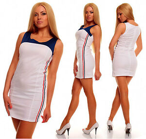 Womens Summer Sporty Bodycon Everyday Holiday Mini Dress size 8 10