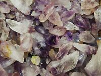 500 Carat Lots of Amethyst Points -  Plus a FREE Faceted Gemstone