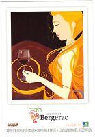 Publicité - cpm - Les vins de BERGERAC