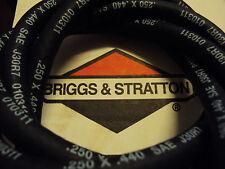 "GENUINE BRIGGS & STRATTON FUEL PETROL PIPE HOSE 1/4"" X 7/16"" FITS RIDE ON MOWERS"