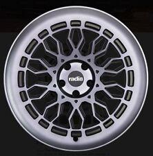 19X8.5 Radi8 A10 5x112 +45 Dark Mist Rims Fits audi a3 tt(MKII) gti (MKV,MKVI)