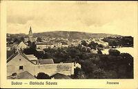 BUCKOW Märkische Schweiz AK um 1910 Panorama Ansicht alte Postkarte ungelaufen