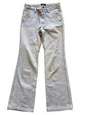 A.P.C. Women's Stonewashed Full Length Sailor Jeans Size 34 100% Cotton Denim