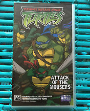 TEENAGE MUTANT NIJA TURTLES - ATTACK OF THE MOUSERS - VHS