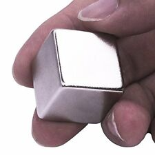 Rare Earth Neodymium Cube Magnet, 1-Inch, High Quality Super Powerful Neo-Dymium