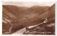Dinas Mawddwy BWLCH-Y-GROES MOTORCYCLE SIDECAR WELSH WALES OLD RP PHOTO POSTCARD