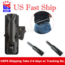 New Plastic Baton Holder Expandable Swivelling Pouch Case Telescopic Holster USA