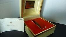 Hamilton classic men's watch box with the inca calendar excellent condition RARE