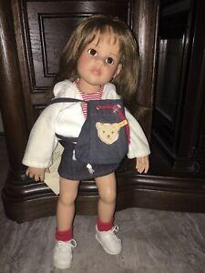 Limited Edition Steiff Leatrice Gotz Doll Rare