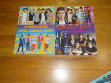 Superstars! Book Lot Heartthrobs One Direction Justin Bieber Cody Simpson Astro