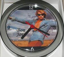 BON JOVI NOVELTY WALL CLOCK 7 INCH GREAT GIFT  JON