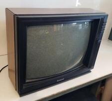 "Vintage 19"" Panasonic CRT TV CTL-1942R-1 Woodgrain 1990 Retro Gaming Color"