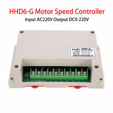 Input AC 220V Output DC 0-220V Speed PWM Regulator Controller Motor HHD6-G 1200W