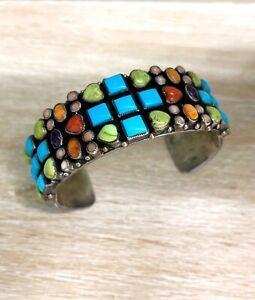 Perfect Valentines Gift!!   Leo Feeney Multi Stone Heart Bracelet