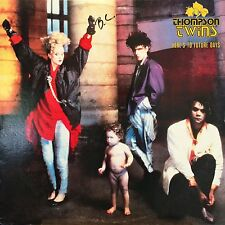 """THOMPSON TWINS """"HERE'S TO FUTURE DAYS"""" LP 1985 NEW WAVE"""