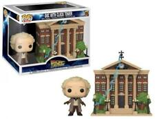 Funko Pop Town: Back to the Future - Doc with Clock Tower Vinyl Figure